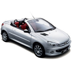 206 Serie I ohne Multiplex Limousine Coupe Cabrio